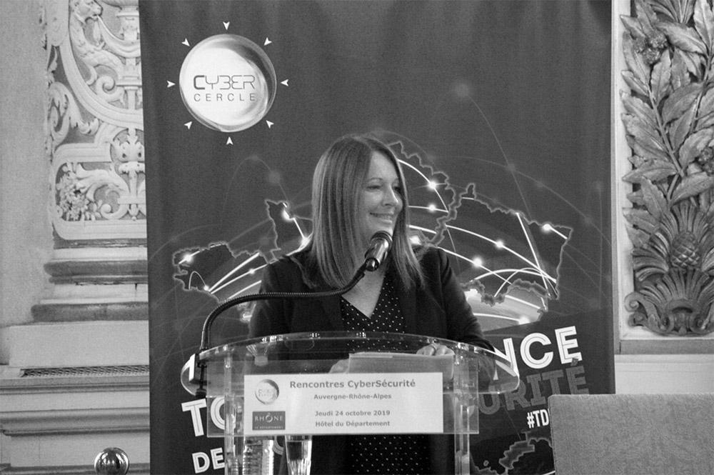Bénédicte Pillet, présidente Cybercercle