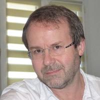 Cyrille Bertelle, professeur, intervenant au RCyber Normandie