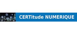 CERTitude NUMERIQUE partenaire TDFCyber